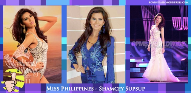 Philippines - Shamcey Supsup